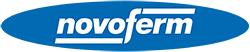 Logo de NOVOFERM para puertas de garaje automáticas e industriales